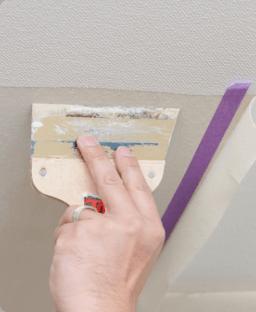 壁穴の部分修理