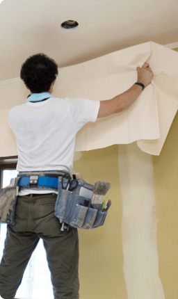 壁穴修理(壁紙柄なし/全面張替え)