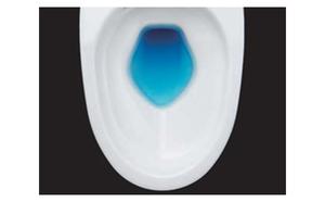 広い溜水面が臭気と汚れの付着を抑えます