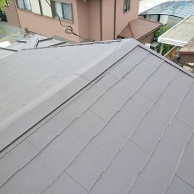 | 屋根の上葺きで簡単リフォームの施工後写真(1枚目)