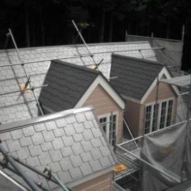 | 屋根の腐食部分を張替えて塗装の施工後写真(0枚目)