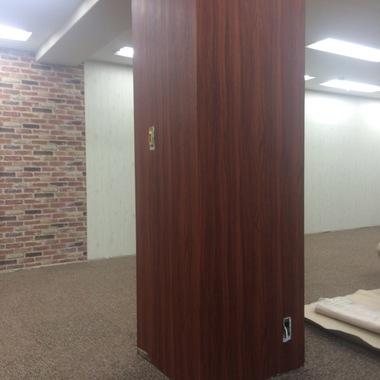 渋谷区  美容院、壁天井内装塗装工事、カーテンレール取付の施工後写真(0枚目)
