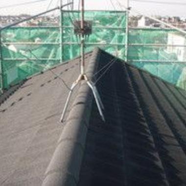 | 屋根瓦 葺き替え工事施工後