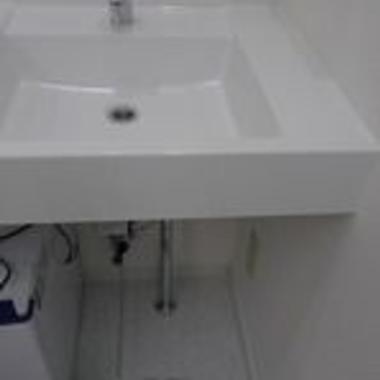 | 洗面台 フットペダル施工場所