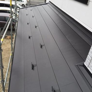 さいたま市桜区  コロニアル屋根葺き替え工事の施工後写真(3枚目)