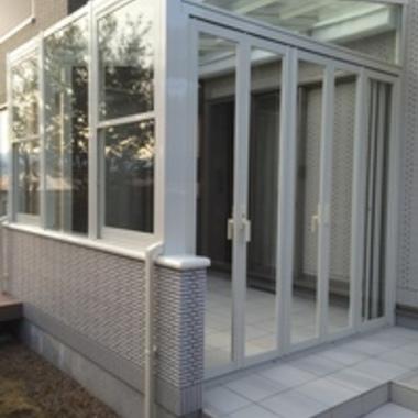 ガーデンルーム入口