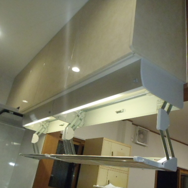 | キッチン収納施工後