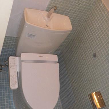 洋式トイレに改修