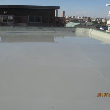 雨漏り防水塗装完了