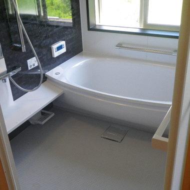 浴室を一部増築