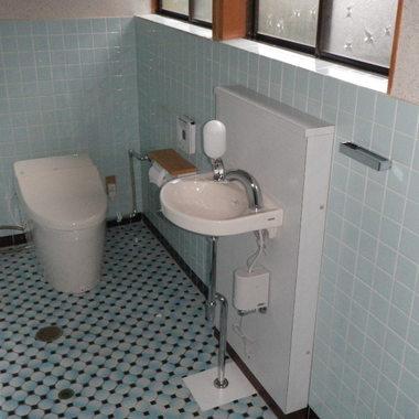 トイレ施工後 手洗い