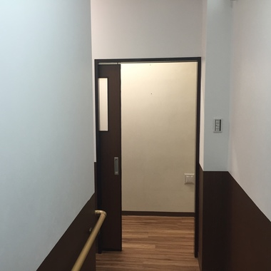 内装工事完了 ドア