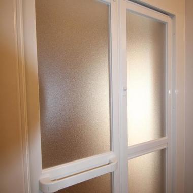 浴室ドア 施工