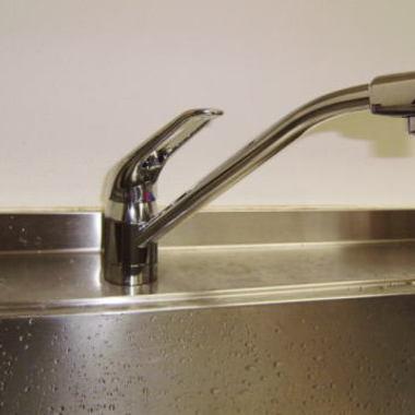 キッチンのシンクからの水漏れに対応の施工後写真(0枚目)