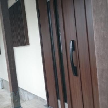 改修工事後 ドア