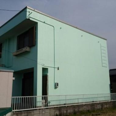 外壁塗装後 グリーン
