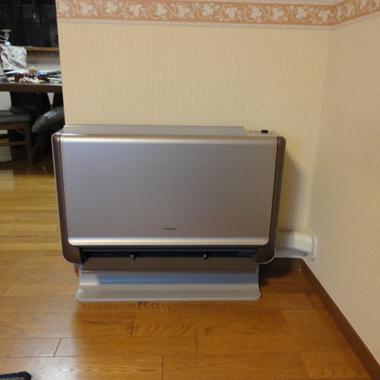 | 床置きエアコン設置工事