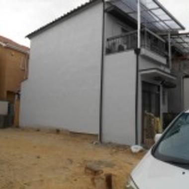 和泉市✕外壁修理・塗装工事✕綺麗な仕上がりの工事の施工後写真(0枚目)