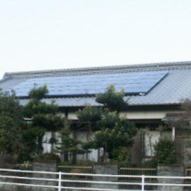 | 太陽光発電施工完了 別視点