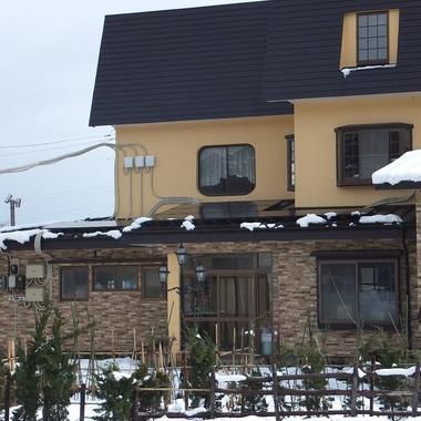 融雪太陽光発電 設置完了