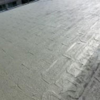 鉄筋コンクリートの家 屋根塗装後3