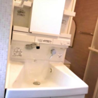 マンションフルリフォーム 洗面台