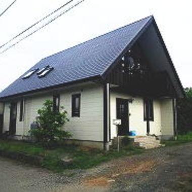 屋根外壁塗装 施工後 別視点
