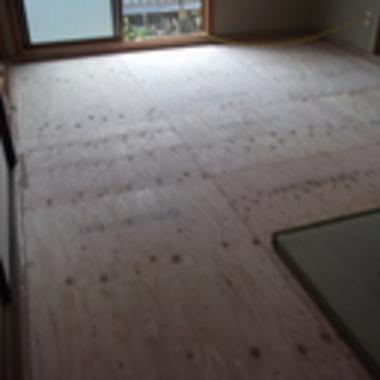 内窓と和室床下の断熱リフォーム 後