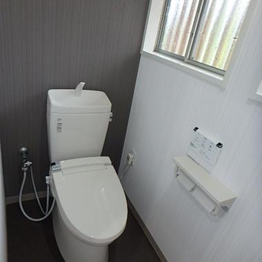最新設備でエコ住宅にリフォーム トイレ