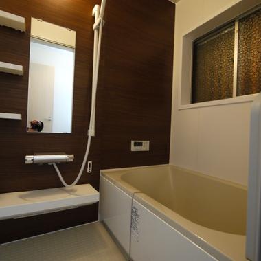 京の町家風住宅 お風呂