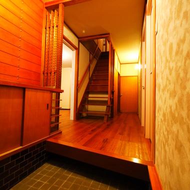 京の町家風住宅 玄関