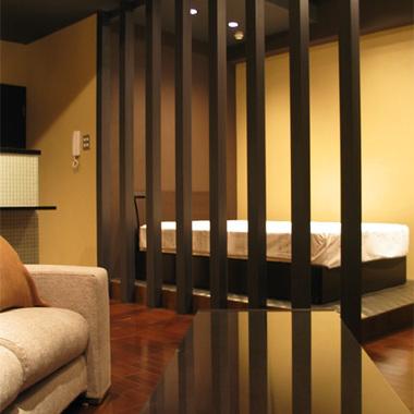 お洒落でハイセンスな住空間 ベッドルーム