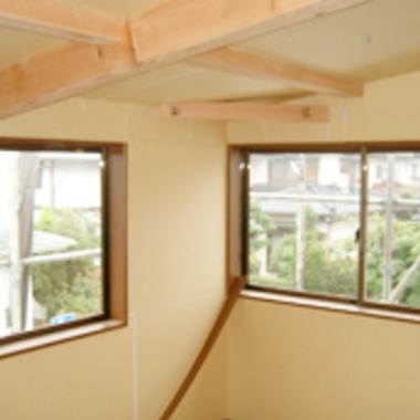 増築工事 窓