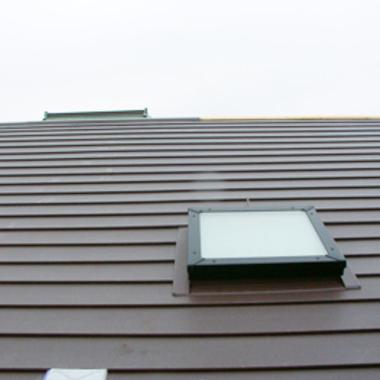 リノベーション施工後 屋根