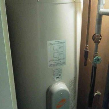 | 電気温水器交換後