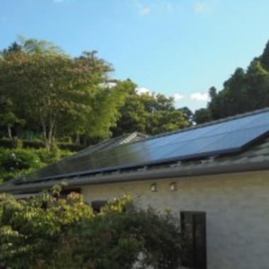 太陽光発電設置工事 全体画像