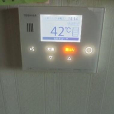 エコキュートのリモコン設置