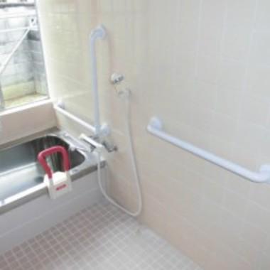 バスルーム手すり設置