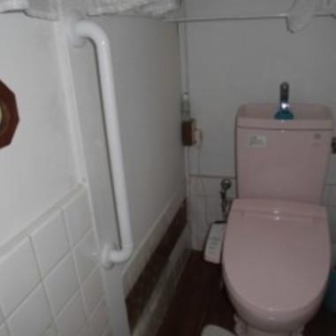 トイレ手すり設置 縦