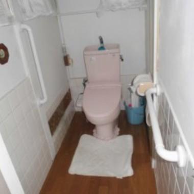 トイレ手すり設置 全体図