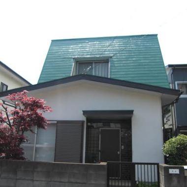 | 屋根と外装の塗装後 全体画像