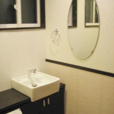 トイレ内に手洗い場設置