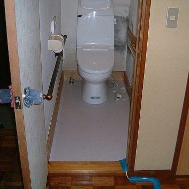 洋式トイレにリフォーム後