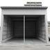 整備用の大型倉庫設置後 正面画像