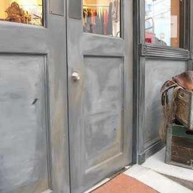 店舗改装工事 ドア
