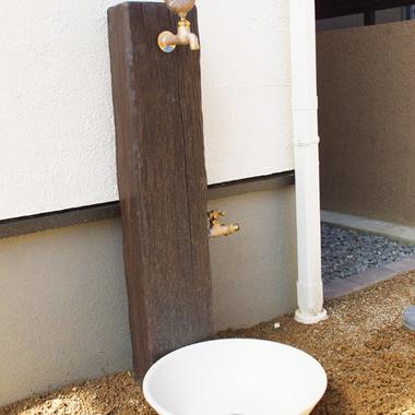 立水栓工事終了