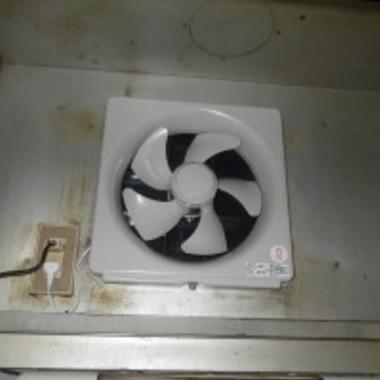 | 換気扇取替え工事