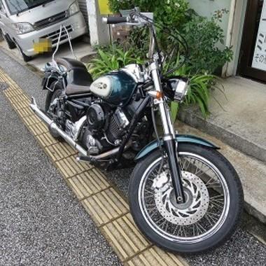 合鍵を作製したバイク