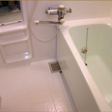 | 浴槽の汚れ・清掃後