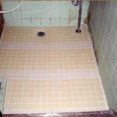 | 浴室タイル張り替え後